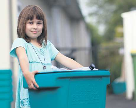 Many schools and preschools already have efficient recycling systems in place.