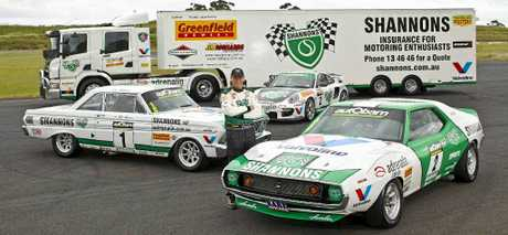 Muscle car fans will be able to see Jim Richards in action in his V8 AMC Javelin