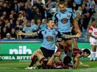 Action from the the second 2012 State of Origin match between Queensland and New South Wales in Sydney. The Blues won 16-12 to level the series 1-1 ahead of the deciding match in Brisbane.