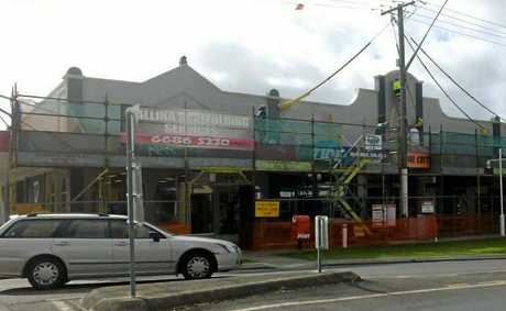 REVAMP: Maintenance work has over the past week been completed on a River St property, pleasing the Ballina Chamber of Commerce.
