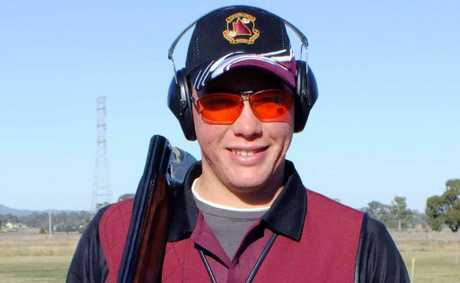 Blackwater's Blake Geary represented Queensland at the National Skeet Championships.