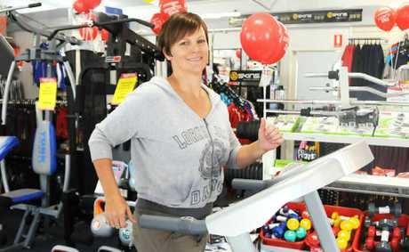 Anna Reid will run for two-and-a-half hours non-stop on a treadmill to raise money for the upcoming Kokoda Challenge.