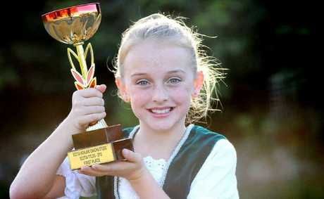 Scottish dancer Georgia Lutton is winning awards for her dancing.