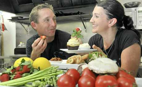 Food@Eumundi owners Scott and Jessica Hardy.