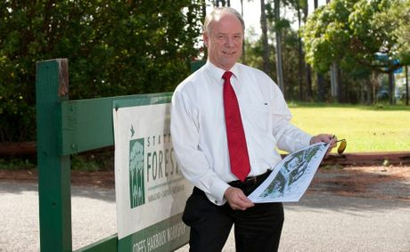 Coffs Harbour MP Andrew Fraser.