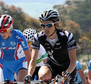 END OF THE ROAD: Cath Cheatley in action in the 2011 world road championships in Melbourne