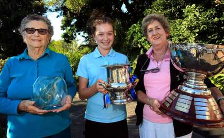 Coolangatta Tweed Golf Club winners for 2012 are Joy Anshaw, Beccy Kay and Judi Carr.