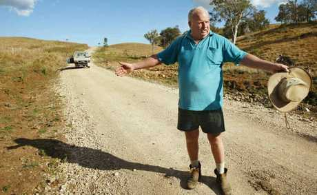 Farmer Ralph Mayer of Crossdale plans to keep pursuing his claim against Somerset Regional Council. Photo: David Nielsen