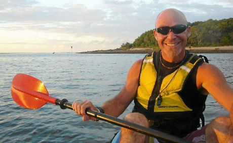 1770 Liquid Adventure owner Simon Speck is embarking on a kayak trip from Agnes Water to Tannum Sands.