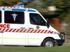 A MOTORCYCLIST was seriously injured after the motorbike he was riding collided with a tree at Cabarlah, north of Toowoomba.