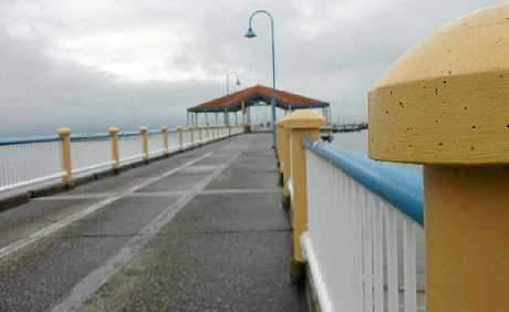 Visitors love to stroll along the Redcliffe Jetty.