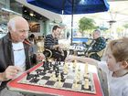 Jean-Pierre Lissonet, left, teaches young Daniel O'Sullivan some tricks of the trade.