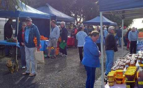 Yesterday's Yamba Farmers Market caused plenty of drama.