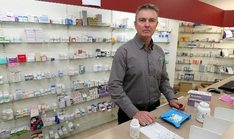 Napier pharmacist Maurice King is wondering if there is a remedy to a new pharmacy funding regime