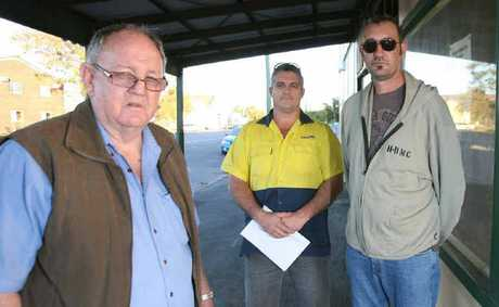 Rockhampton businessmen Ken Hay, Adam Hatswell and Gerald Dammer are hoping a Townsville judges decision to halt Mayor Margaret Strelows Chat Room Cafe will be the end of the matter, but have said they will stand firm.