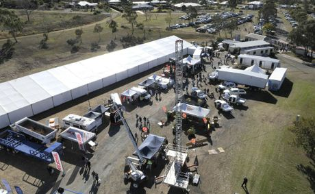 CROWDS turned out in force for the opening day of the Surat Basin Energy and Mining Expo at the Toowoomba Showgrounds.