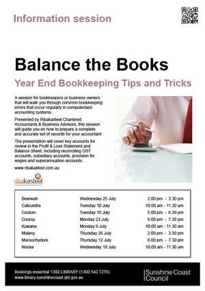 A session for bookkeepers or business owners that will walk you through common bookkeeping errors that occur regularly in computerised accounting systems.
