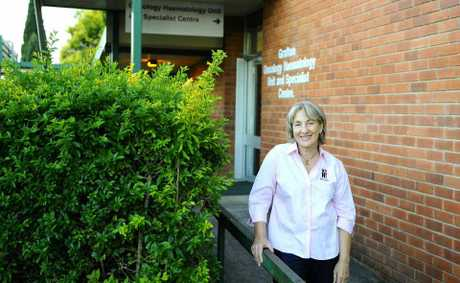 McGrath Breast Care Nurse Catherine Brophy at Grafton Base Hospital.