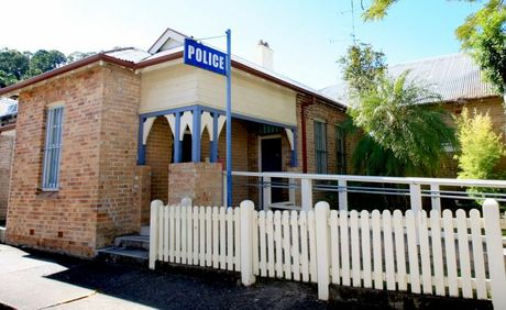 Murwillumbah Police station.