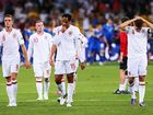England players walk off the field after they lost to Italy in the quarterfinals of the 2012 European Championship.
