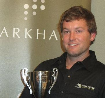 GRAPE TALENT: Sacred Hill&#39;s Johnny La Trobe, 27, won the Hawke&#39;s Bay regional Markhams Young Viticulturist of the Year competition for the third time on Friday.