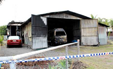 Police are still investigating a house fire in Biloela last night. 