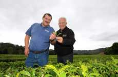 Madura Tea finance manager Doug Lambert and part-owner director Gary Davey.