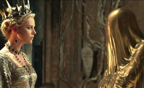 Charlize Theron in a scene from the movie Snow White and the Huntsman.