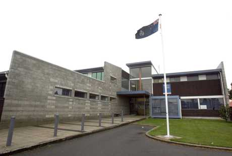 SPECIAL SITTING: The man arrested on Wednesday after a 50-minute police chase on foot had his case heard at the Masterton Police Station yesterday, where he was remanded in custody. The lack of cells at the temporary Masterton court meant he could not appear there.