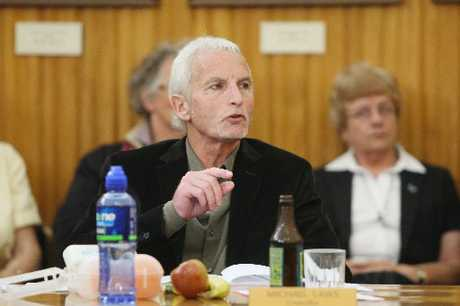 LONE VOICE: The Wanganui District Council has rejected a bid by Councillor Michael Laws to defer a 0.5 per cent earthquake strengthening levy for quake-prone public buildings, such as the Sarjeant Gallery, and a 1.5 per cent debt reduction levy.