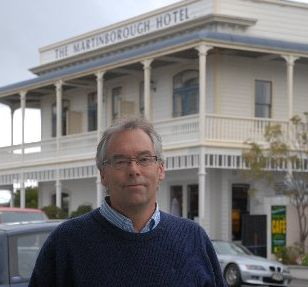 "URGENT: Martinborough Hotel owner Mike Laven wants South Wairarapa District Council to review its ""pan tax"" as he says it's unfair on accommodation providers."