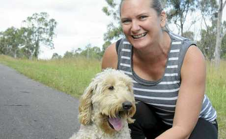 Della Tomlins is running for a cause, as part of the Gold Coast marathon.