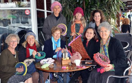 The Maleny Tilitjas knitting up a storm to support Indigenous Australian women.