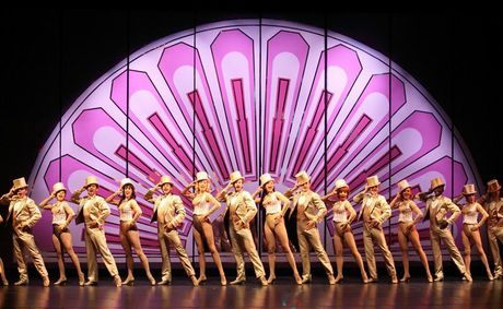 The cast of A Chorus Line.