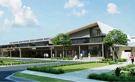 The latest artist's impression of the Hervey Bay St Stephen's Private Hospital.