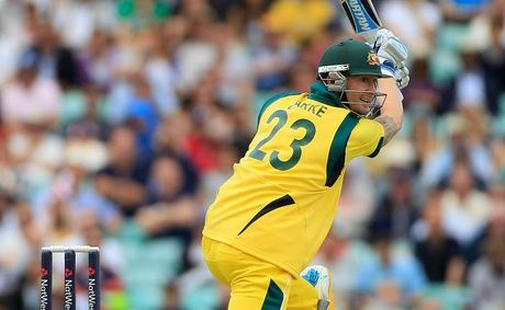"Australian captain Michael Clarke: ""We've got one game to go, and I'd be very disappointed to go home without a win."""