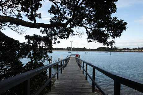 The wharf at Beachhaven has lost assured funding for the promised ferry wharf.