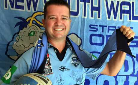 Paul Curtis is looking forward to NSW finally thrashing Queensland this week.