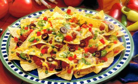 Nachos are a quick and easy meal idea.