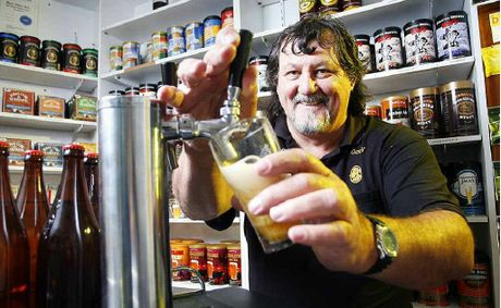Yamanto home brewer Garry Rodgers is ready for the inaugural Queensland Beer Week, July 16-22.