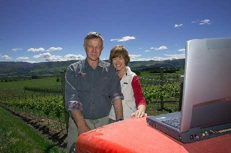 Jim and Anne Jerram of Ostler Wines