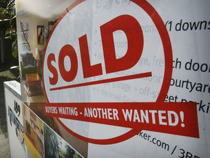 House sale figures are at a three year high