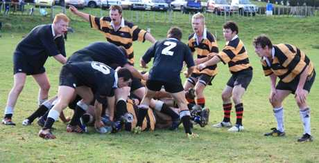 IT was a less than successful day for Whanga when they played Toko on Sunday for the Dean Cup.