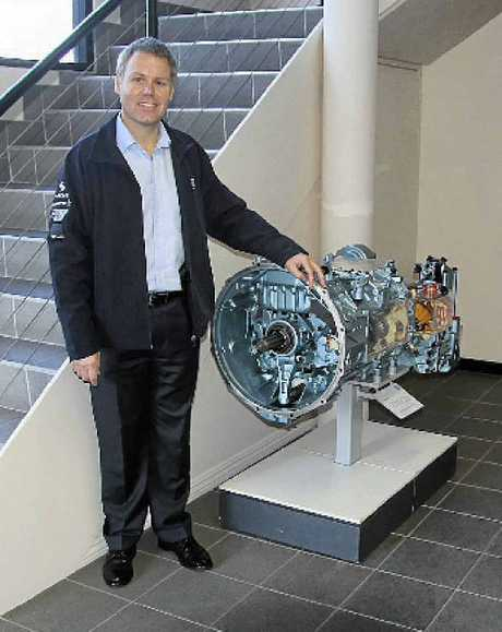 BROADENING HORIZONS: Chris Adcock (above) is the ZF boss in Australia and is focused on broadening support for ZF products across the country.INSET: ZF has signed a deal to supply gearboxes to the world's biggest maker of wind turbines. Reliability is an absolute when the problem is over 50 metres in the air.
