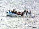 "A THIRD group of asylum-seekers has been sent to PNG as Opposition Leader Tony Abbott warned the arrival of the 50,000th ""illegal"" boat arrival was imminent."