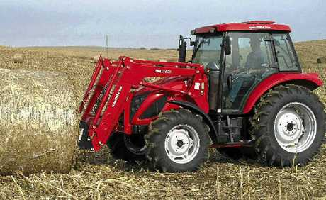 HIGH PERFORMANCE: The new TYM 903 and 1003 models offer a great package for farmers.
