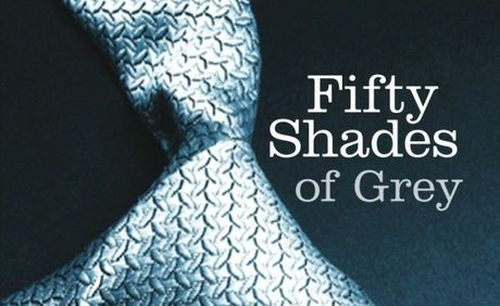 Fifty Shades Of Grey cover art.