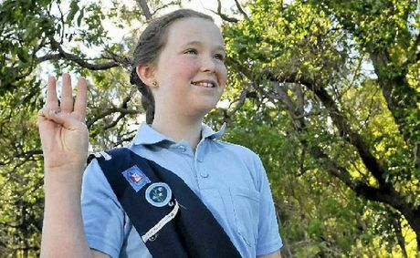 Toowoomba Girl Guide Indiah Adams is one of a multitude of Guides who come from a wide variety of backgrounds.