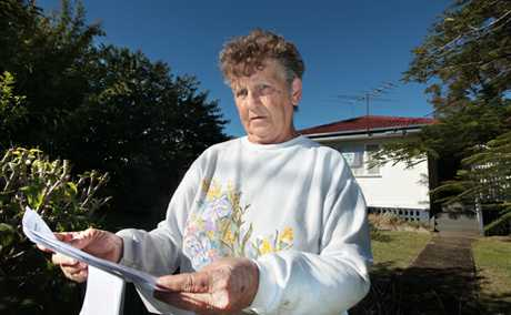 Woodridge public housing resident Joy Wright is one of many at the centre of the Queensland Government's public housing shake up.