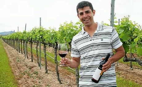 Golden Grove Estate winemaker Ray Costanzo was awarded two gold medals at the Royal Queensland Wine Show.